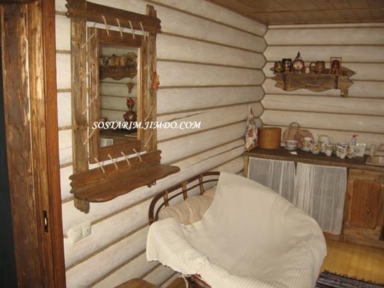 Бани под старину вешалка под старину с